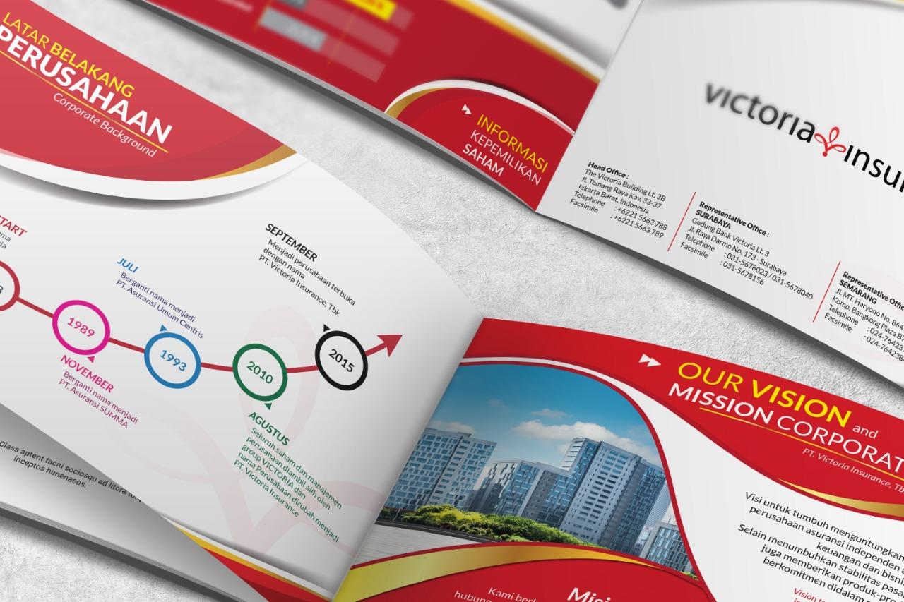 Contoh Company Profile Tutorial Cara Membuatnya Lapakdesainku